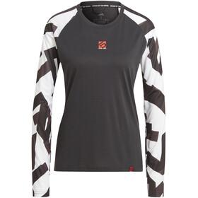 adidas Five Ten THE 5.10 Trail Langarm T-Shirt Damen black